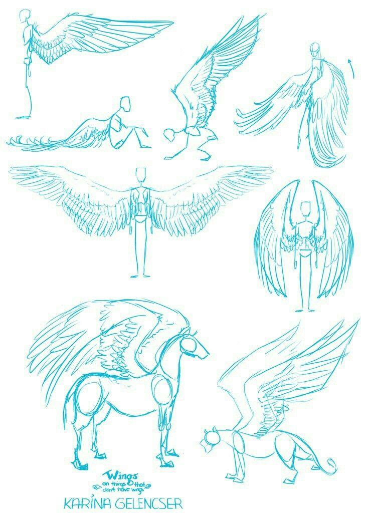 Wings How To Draw Manga Anime How To Draw Manga Anime Drawings