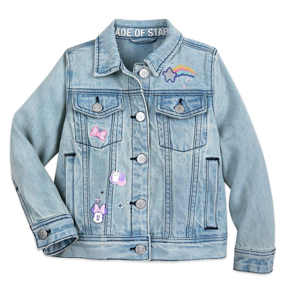 Minnie Mouse Denim Jacket For Girls Shopdisney Girls Jacket Denim Jacket Girl Outfits [ 1000 x 1000 Pixel ]