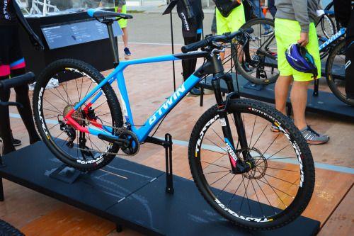 Cycle Velos Velos Cyclisme Vtt Btwin Rockrider 340 Noir Bleu B