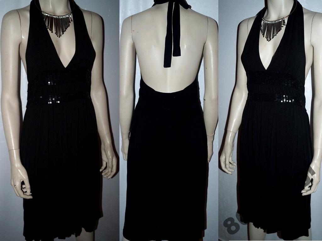 Only Mala Czarna Sukienka Sylwester Cekiny 38 40 5537987245 Oficjalne Archiwum Allegro Fashion Dresses Halter Dress