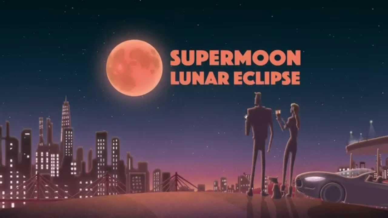 NASA | Supermoon Lunar Eclipse