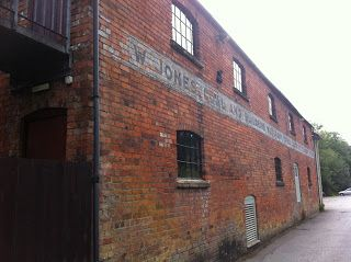 Ghost sign on old merchant's building in Nailsworth, Gloucestershire #psychogeography