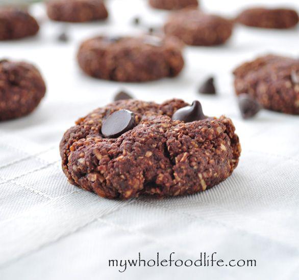 Gluten Free Mint Chocolate Chunk Cookies Decadent Little Bites Of