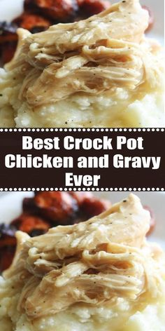 Photo of chicken and gravy crockpot
