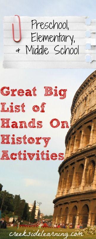 History Ultimate Homeschool Board Pinterest Teaching History