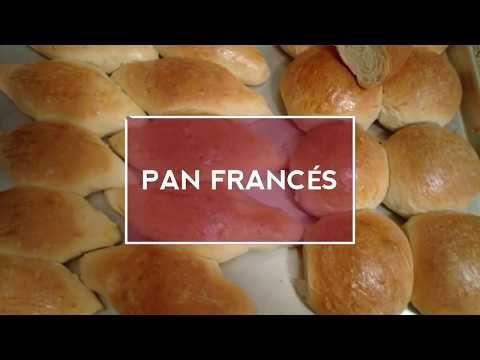 Como Hacer Pan Francés Salvadoreño Youtube Pan En 2019