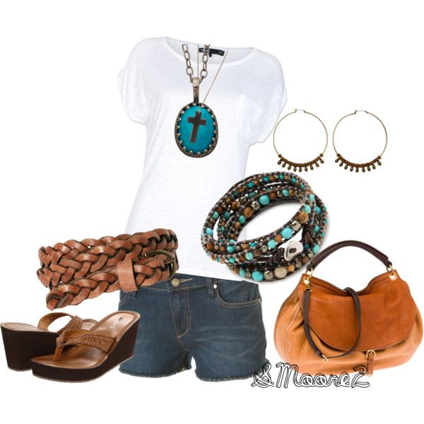 """""""Summer Casual"""" by smoore2 on Polyvore"""