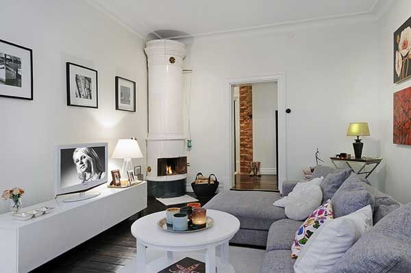 Cozy Apartment in Sweden 10 Cozy Swedish Apartment With Charming Wood Burning Fireplace