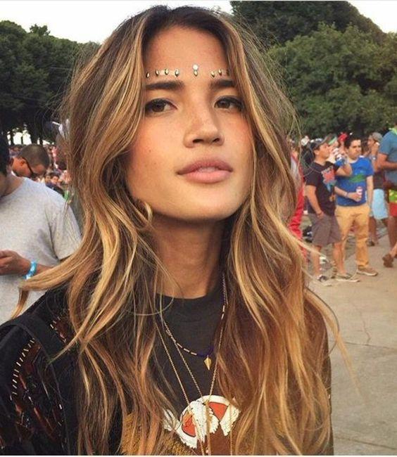 Bekannt Balayage blond ou caramel pour vos cheveux châtains | Balayage  HU07