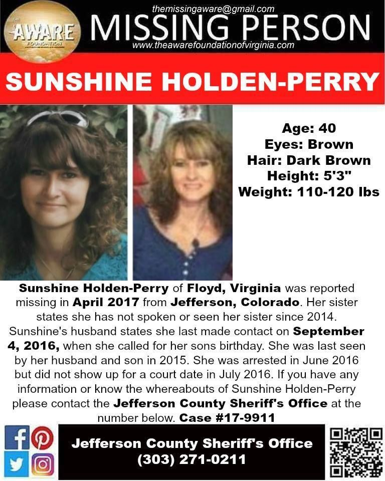 Find Missing Sunshine Holden-Perry! Missing Persons Please Find - missing persons template