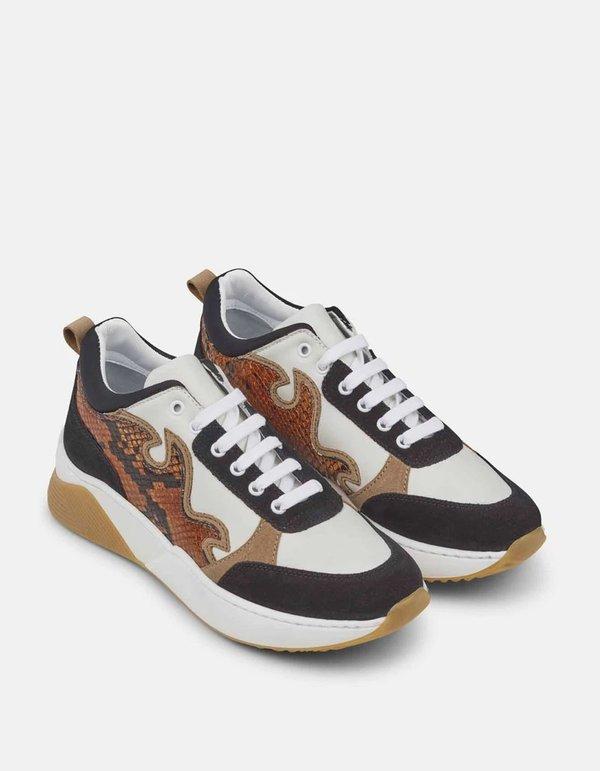 Just Female Rome Sneaker - Snake Combi