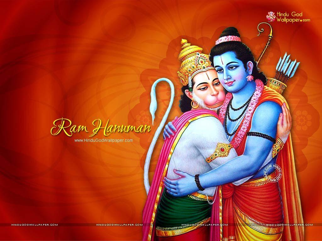 Hd wallpaper hanuman - Ram Hanuman Wallpaper
