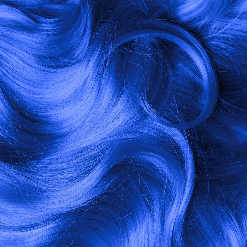 Bad Boy Blue Classic High Voltage Blue Hair Aesthetic Dyed Hair Blue Hair Color Blue