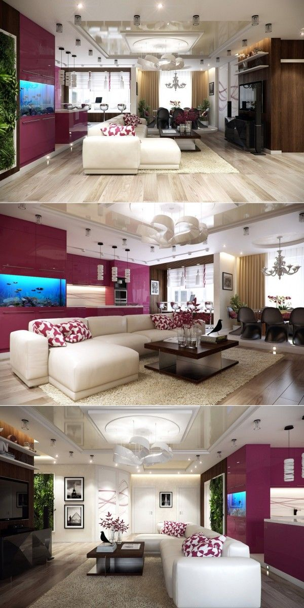 Sala roxa Ideas for the House Pinterest Living rooms, Room and