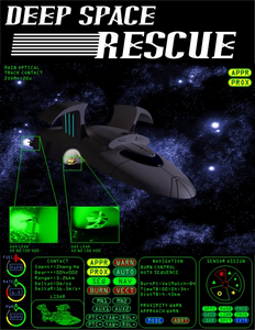 Deep Space Rescue cover by Ryan Trimble, Jimmy McKinney, and Ray Forsythe