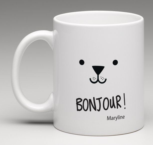 Super Mug cadeau personnalisé thème petite frimousse | Personnalisé, Le  XW71