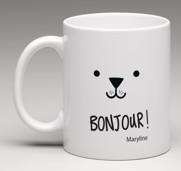 mug cadeau personnalis th me petite frimousse. Black Bedroom Furniture Sets. Home Design Ideas