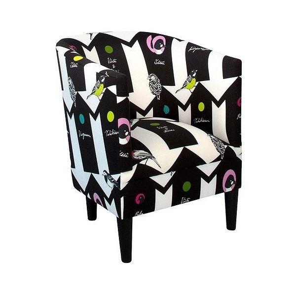 tub fabric accent chair patchwork pier one parsons upholstered vallila bird house 350