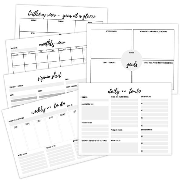 free printables planner sheets print pinterest planner sheets