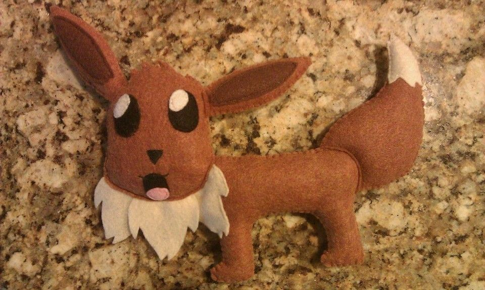 Evee Plushie! Like and Follow me on Facebook and Tumblr