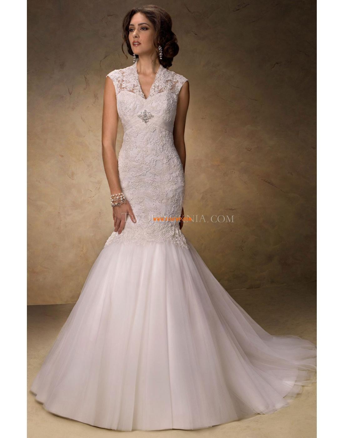 V Neck Lace Empire Alternative Wedding Dresses Wedding Dresses