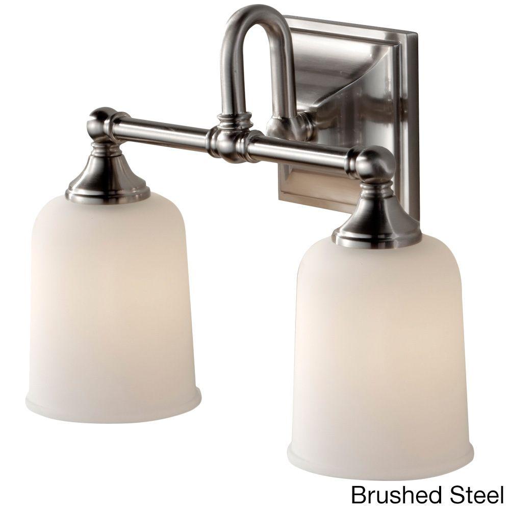 2-light Contemporary Vanity Strip | Overstock.com Shopping - The Best Deals on Sconces & Vanities