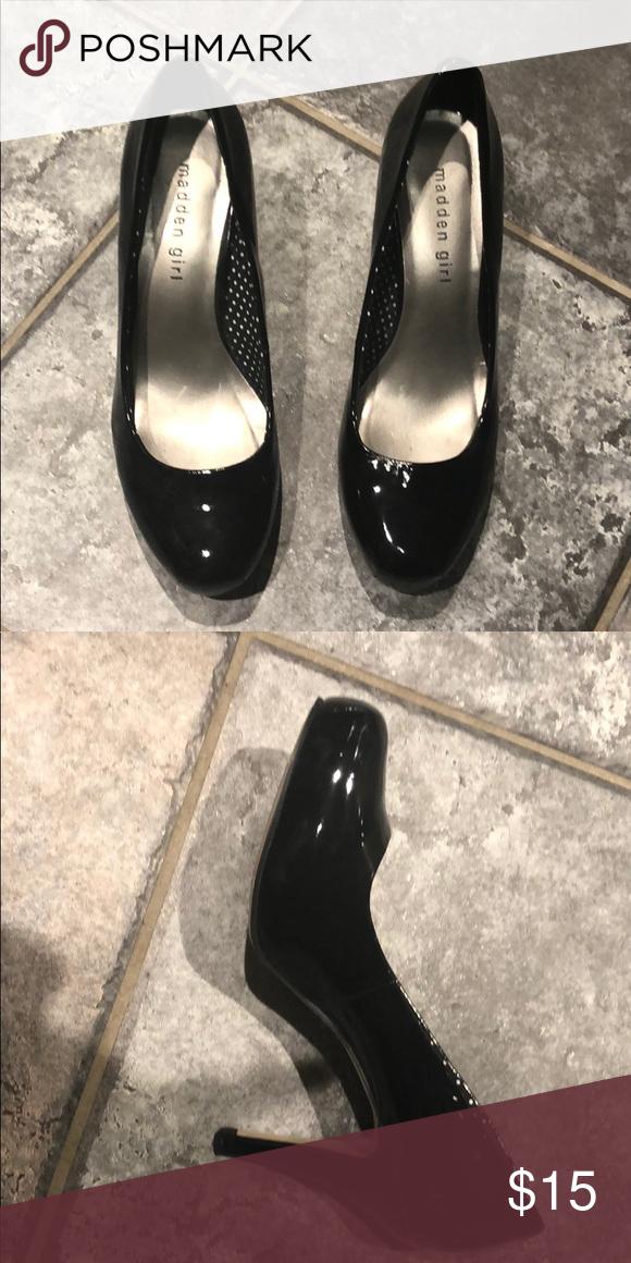 0edd1513abe Steve Madden black high heels Black high heels only worn twice Steve ...