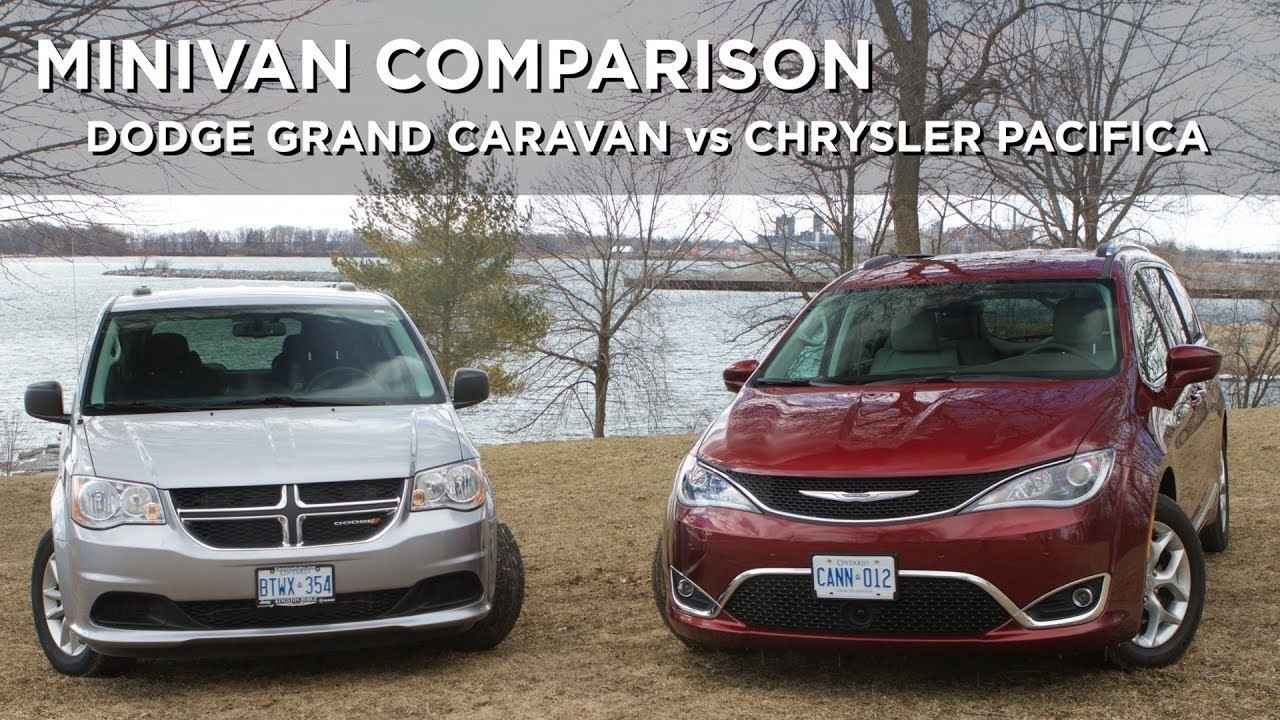 New Dodge Caravan 2017 Hybrid Minivan Comparison Grand Vs Chrysler