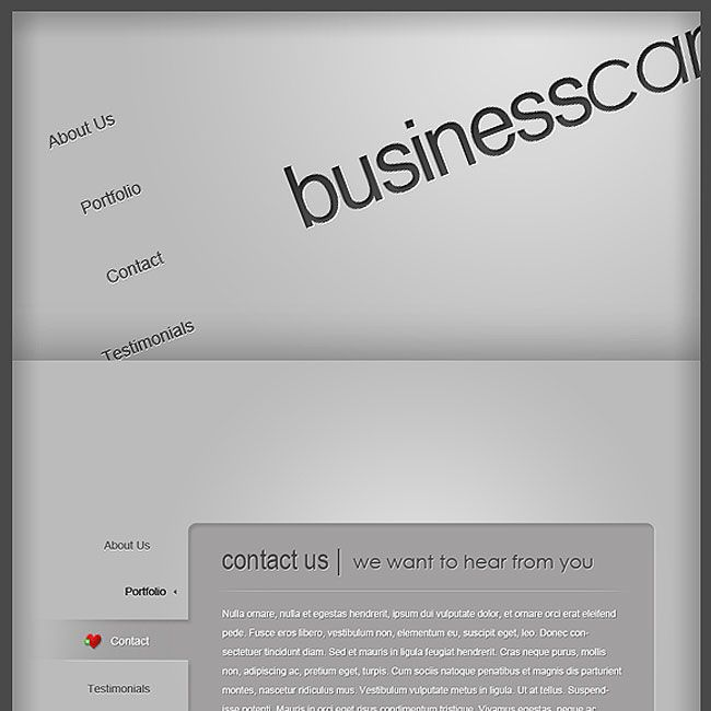 Businesscard WordPress Theme By Elegant Themes