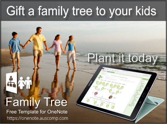 Gift a family tree to your kids Download this free template for - ms office family tree