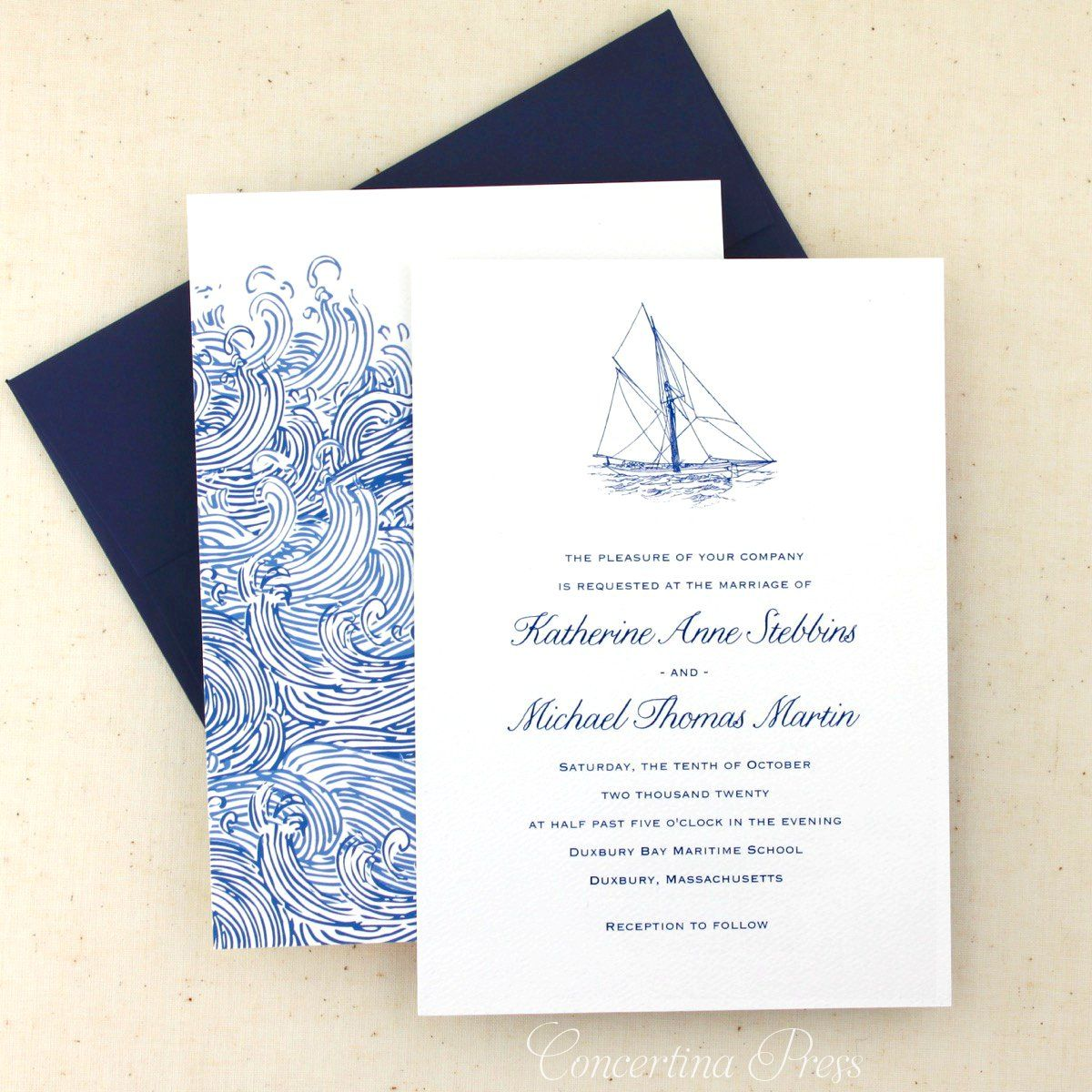 Looking For The Perfect Yacht Club Wedding Invitations
