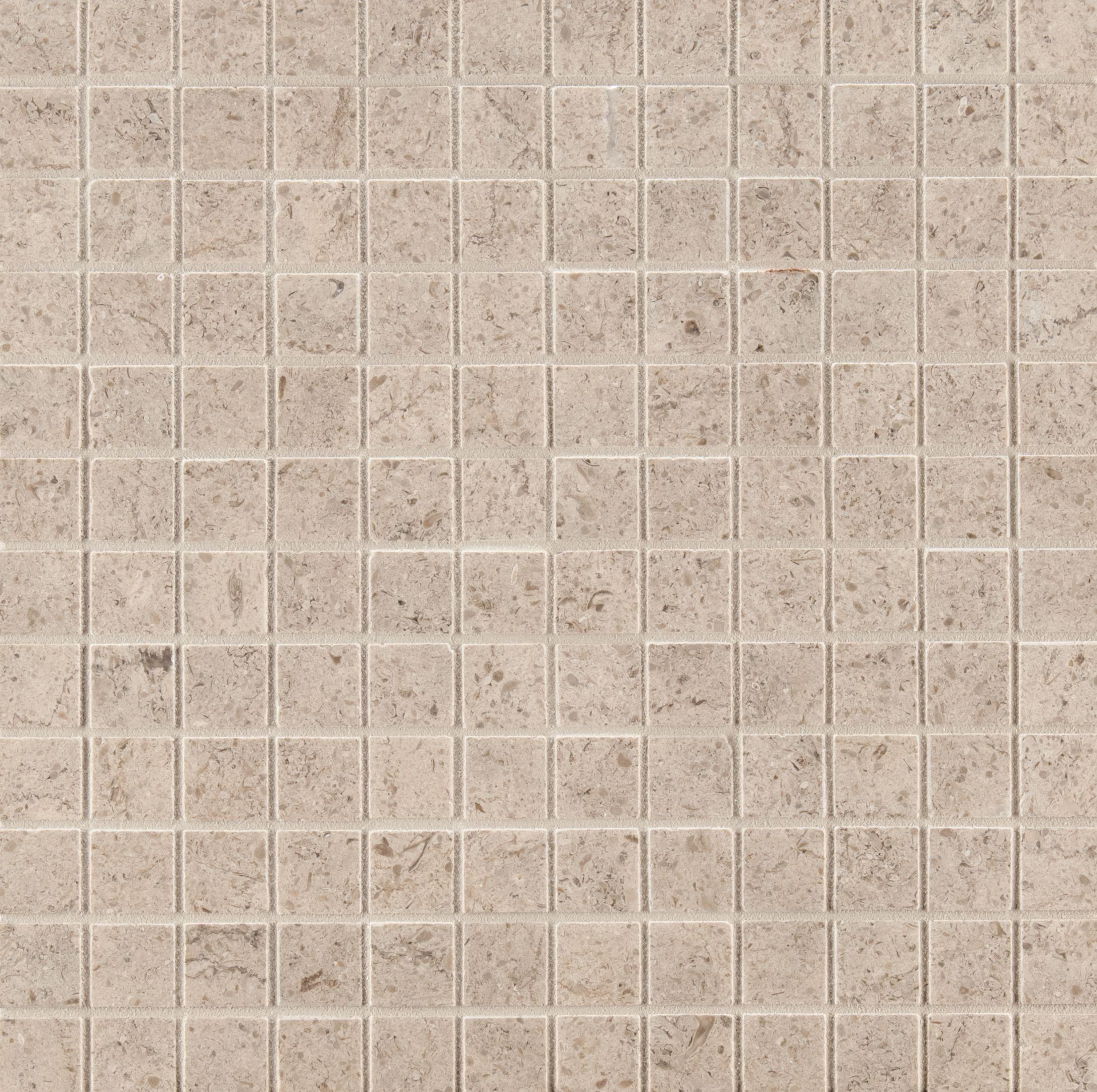Ann Sacks Fontainebleau 7 8 X 7 8 Straight Limestone Mosaic In