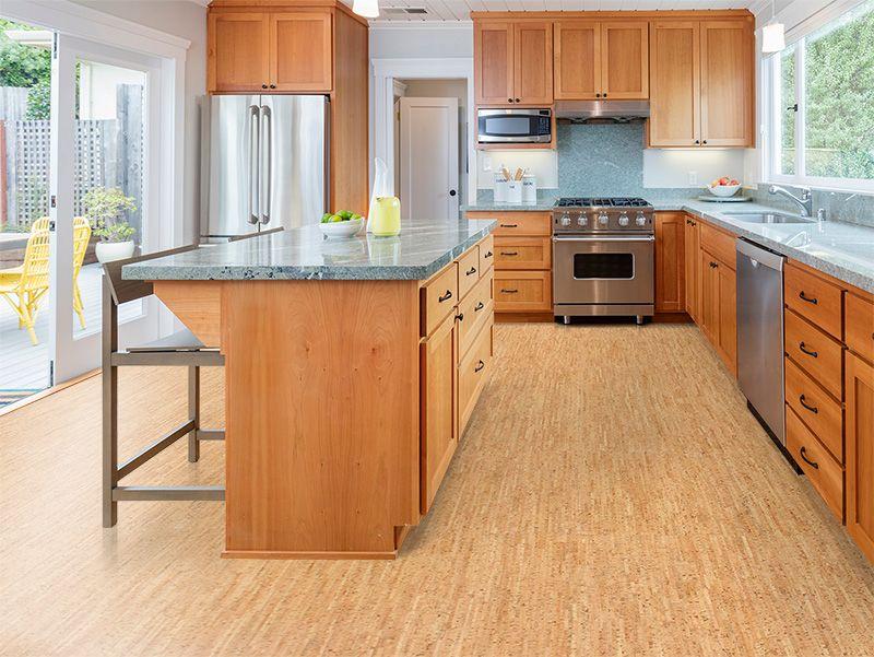 Cork Kitchen Flooring Ideas In 2020 Kitchen Flooring Cork Flooring Kitchen Kitchen