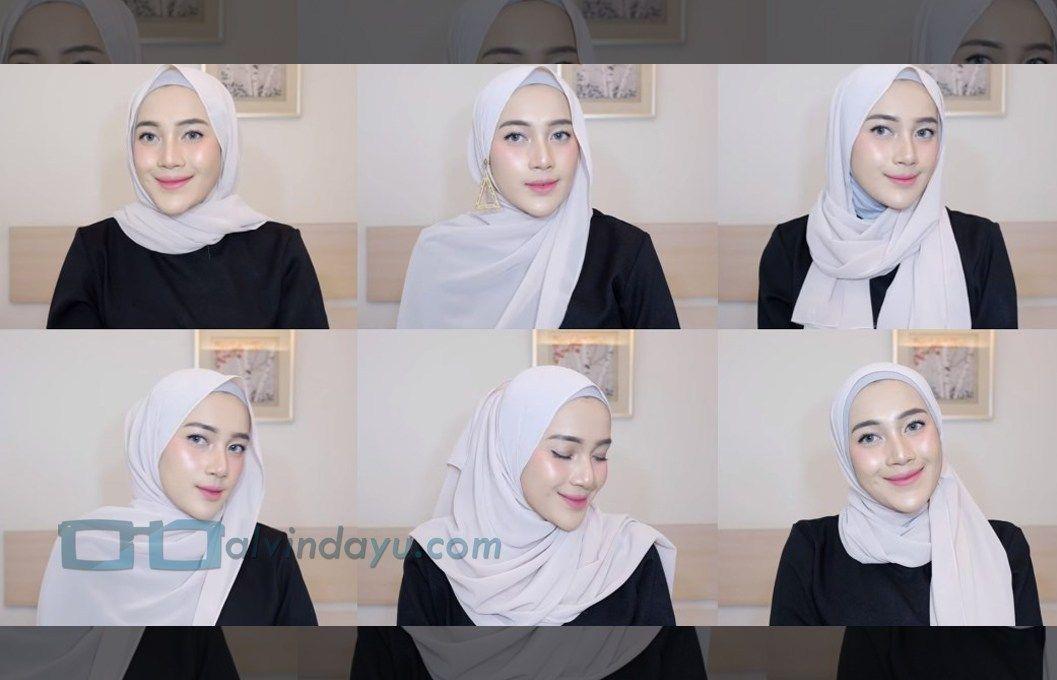 Tutorial Hijab Pashmina Ala Selebgram