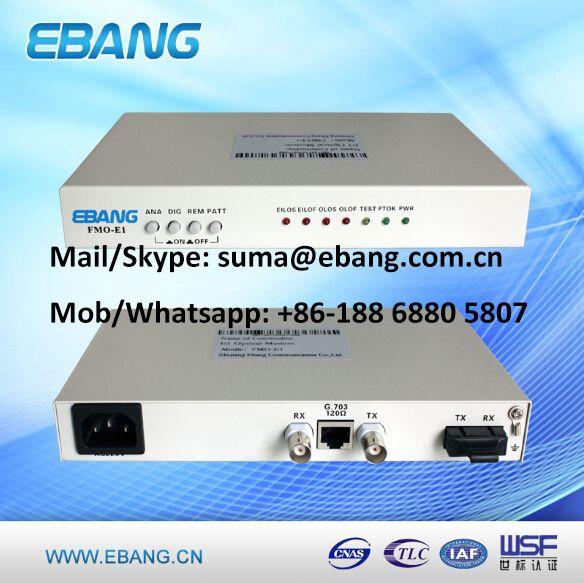 E1 Fiber Modem Modems Fiber Optic Fiber