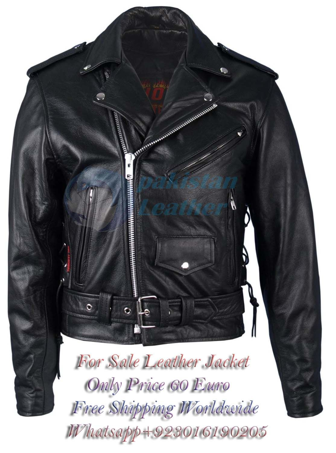 For Sale Leather Jacket You can request us any items of