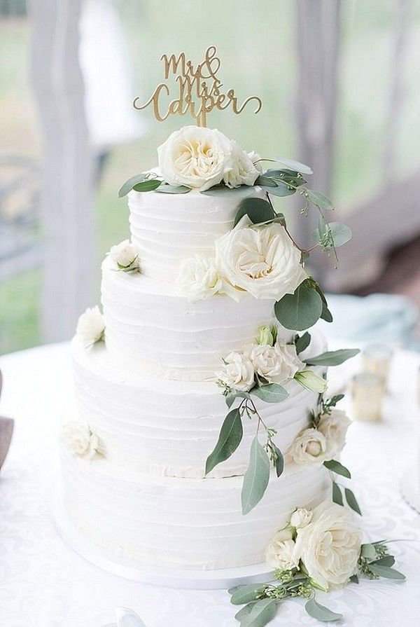 Trending-12 Sage Green Wedding Cakes to Love