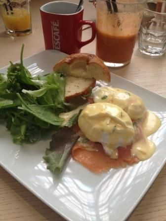 """Ess Benedict- brunch at the """"God Save the Food"""" in Milan"""