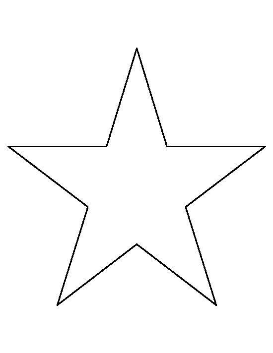 Dessin à imprimer, une étoile à 5 branches tatoo Pinterest