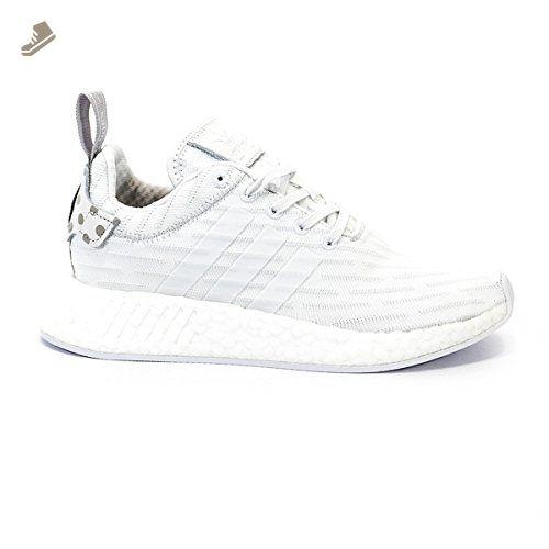 adidas nmd r2 pk primeknit w triple white granite polka dot by2245