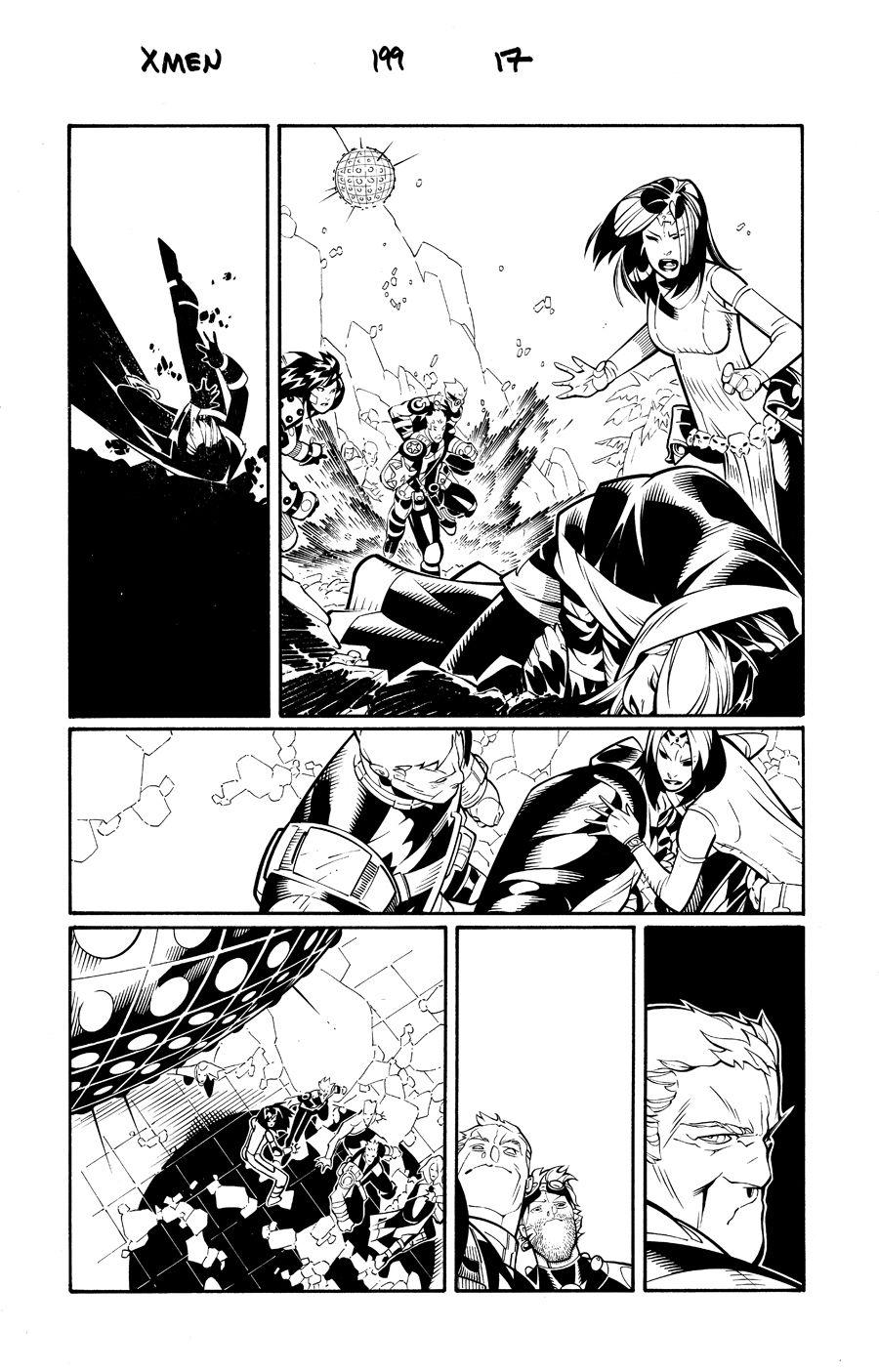 X Men 199 pg 17 by TimTownsend on DeviantArt