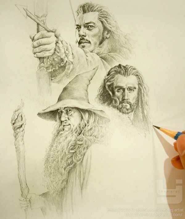 The hobbit wip 1 by leemarej on deviantart