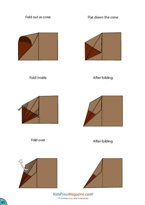 Paper Airplane Instructions  F  Airplanes Template And Craft