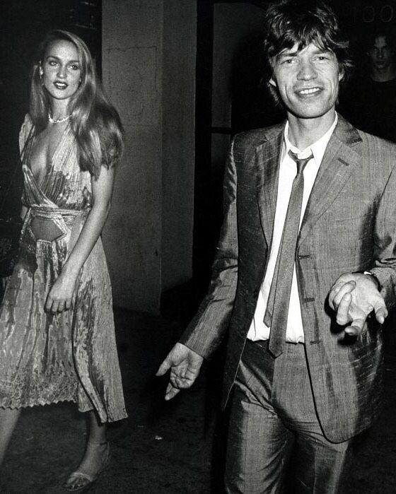"Mick Jagger 1980 ""Jerry Hall a..."