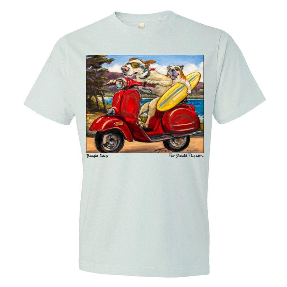 Boogie Days: Mens Fine Cotton Jersey T-Shirt