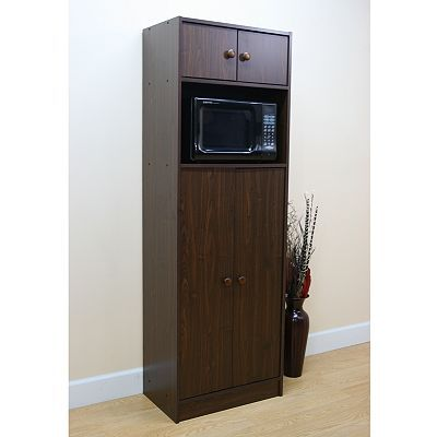 Premier RTA Pantry & Microwave Stand Kitchen Tall