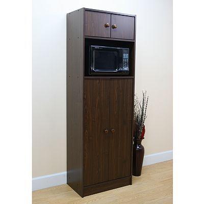 premier rta pantry microwave stand