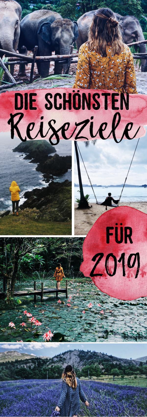 Die schönsten Reiseziele für 2019 | Reisetipps und Orte