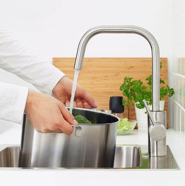 Ikea Küchen 2018 ÄLMAREN Küchenarmatur Stahl | Wohnideen Küche ...