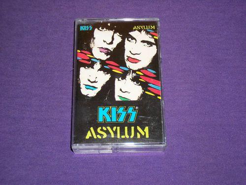 Kiss / Asylum / Cassette Tape / Mercury / 1985 / Paul Stanley / Gene Simmons